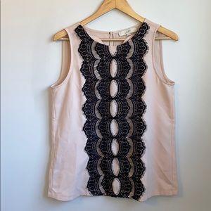 Loft lacy blouse